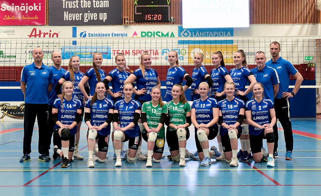 JymyVolley joukkuekuva 2020-21